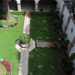 Jardín recepción