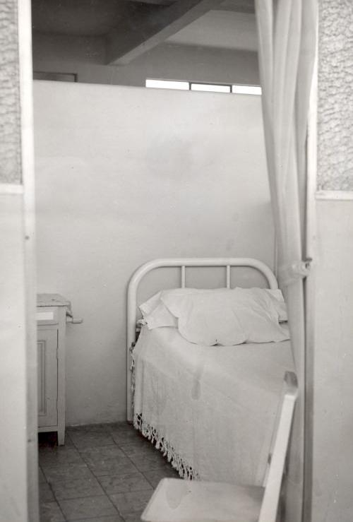 Dormitorio del internado B 1954 La Flori