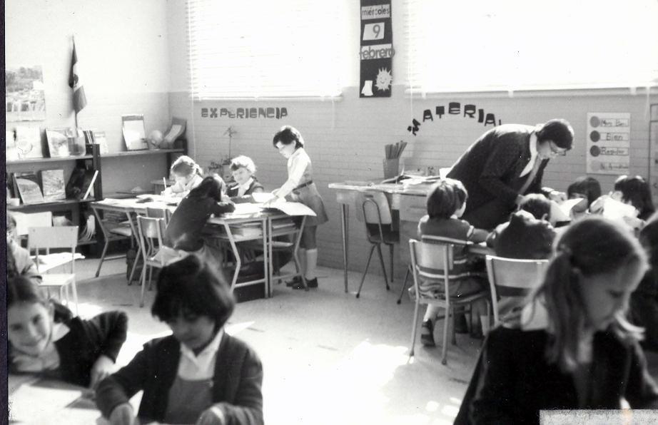 La Florida clase 1o Primaria 1980