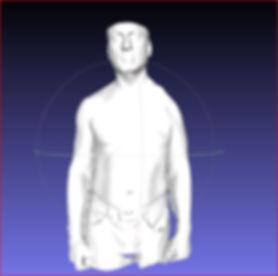 New Attitude scan of man  missing left s