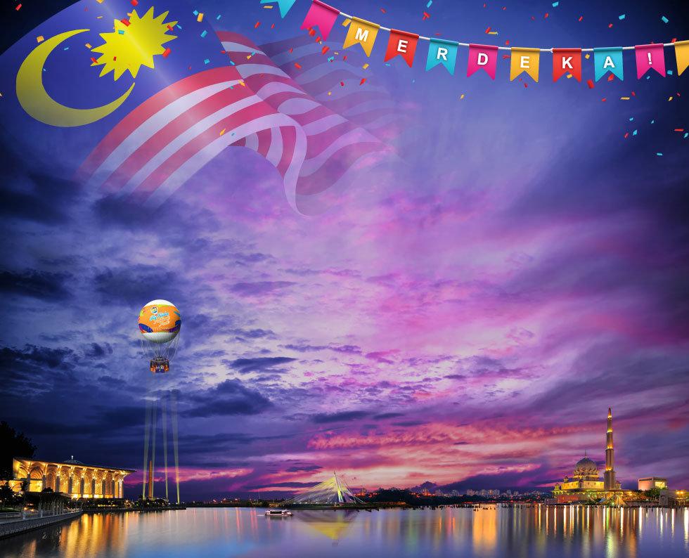 Skyrides Balloon Merdeka Day Special