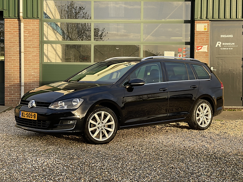 VOLKSWAGEN GOLF VARIANT 1.6 TDI HIGHLINE DSG HALF LEDER CONNECTED SERIES