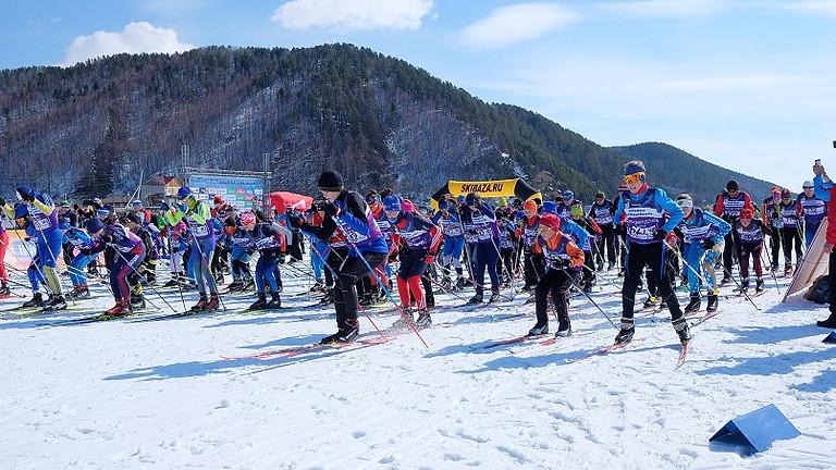 10K - Лыжная гонка на 10 км свободным стилем.