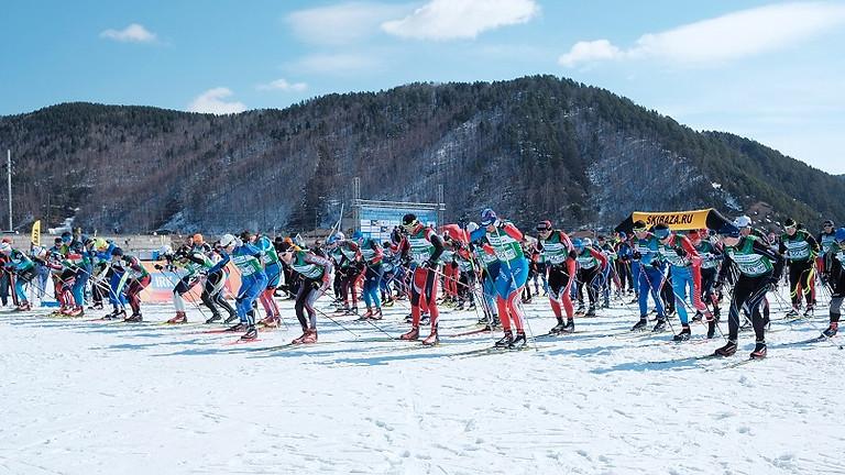 Марафон - лыжная гонка на 50 км свободным стилем