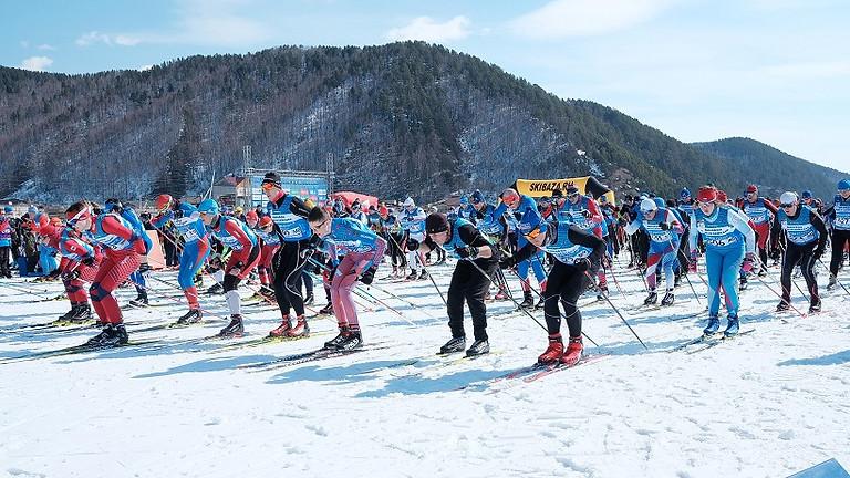 Лайт Марафон - лыжная гонка на 30 км свободным стилем