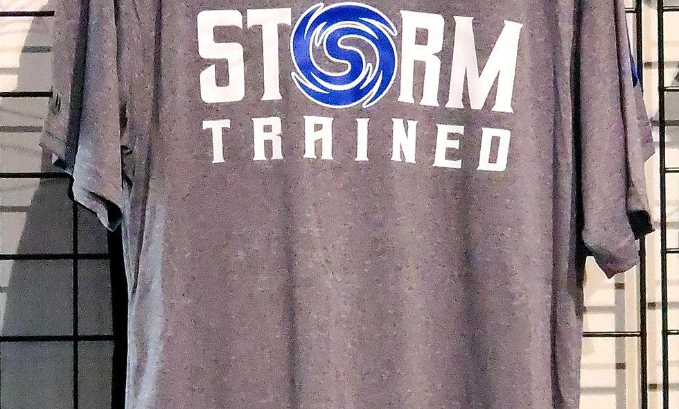 Grey Storm Trained Dri-Fit Shirt