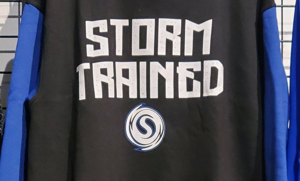 Storm Trained Cotton Hoodie