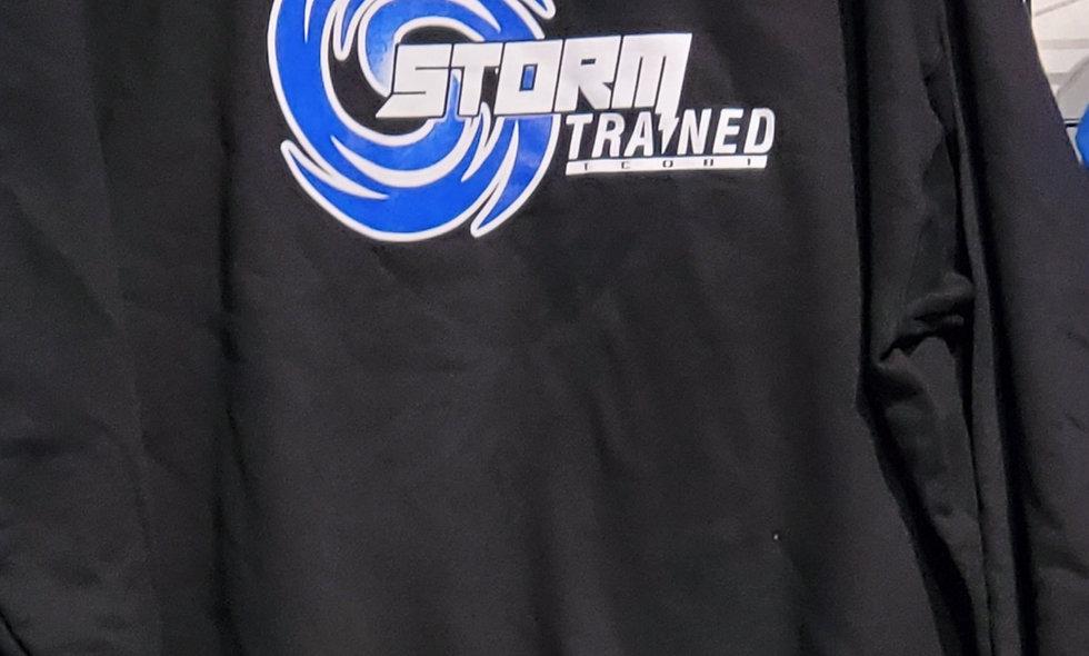 Black Storm Trained Sweatshirt (Cotton)