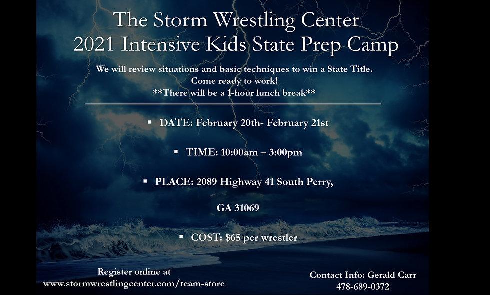 Intensive Kids State Prep Camp (2 days)