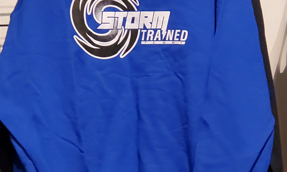 Blue Storm Trained Sweatshirt (Cotton)