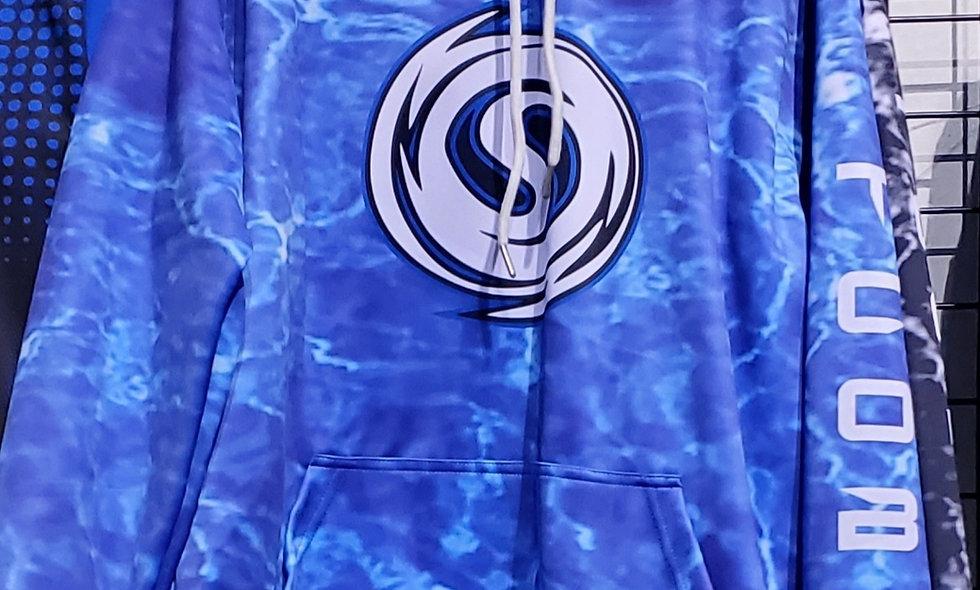 Blue Storm Hoodie