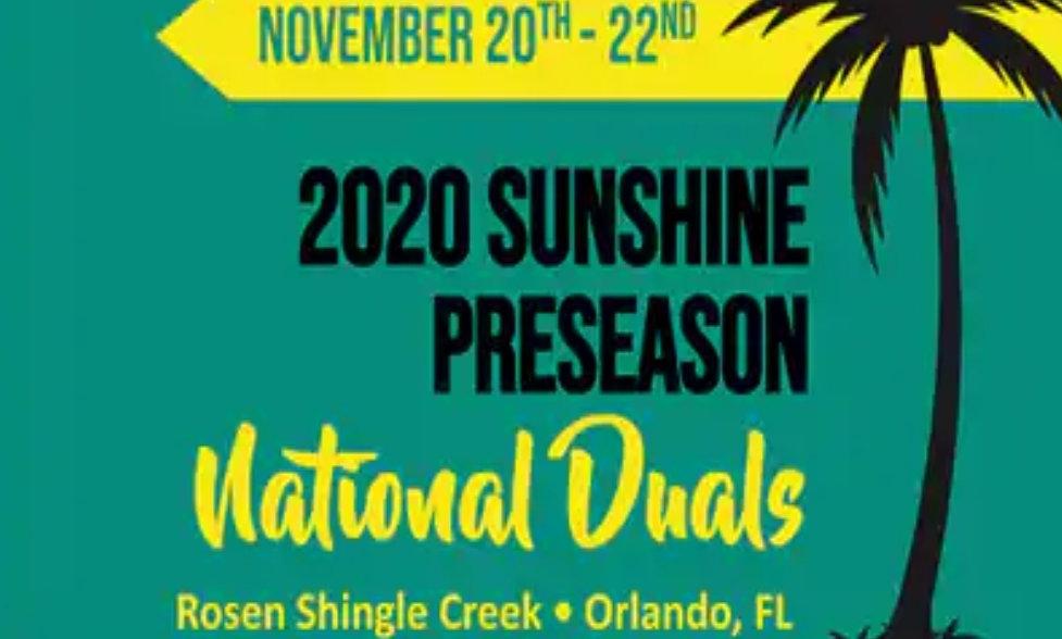 Sunshine Nationals Duals Fee (Hotel+Registration)