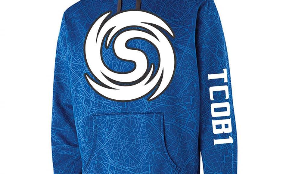 Blue Storm Hoodie (Dri-fit)