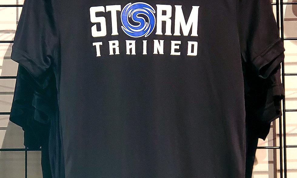 Black Dri-Fit Storm Trained Shirt