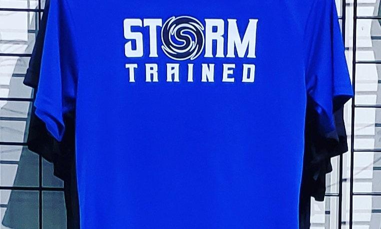 Blue Dri-Fit Storm Trained Shirt