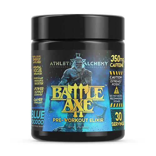 BattleAxe™ Pre-Workout Elixir - Blue Voodoo