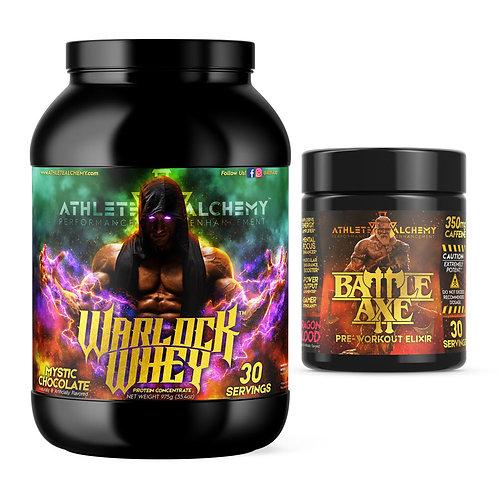 BattleAxe™ + Warlock Whey Bundle