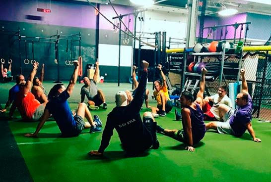 Crossfit Class Training Class Workout