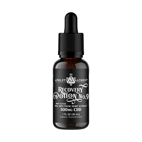 Recovery Potion No. 9 - 500mg CBD Tincture