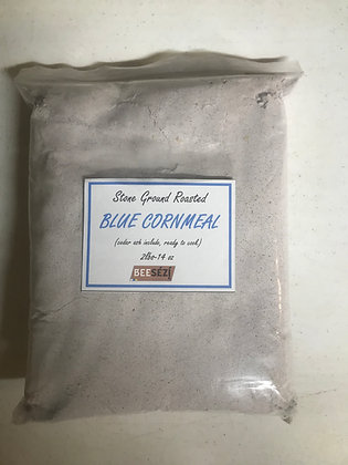 Blue Cornmeal with Cedar ash