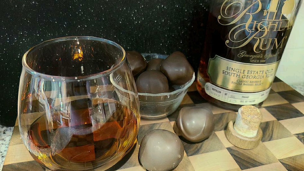 Richland Rum Chocolate Truffles