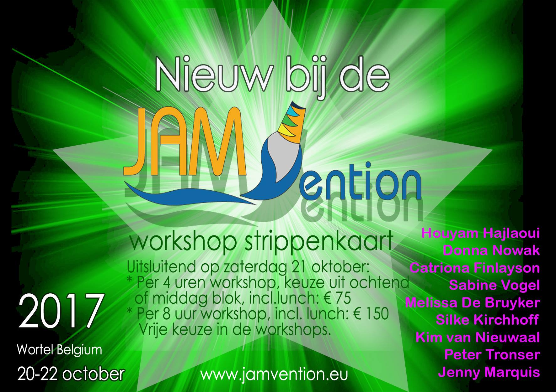 Melicious Paints op JAMvention!