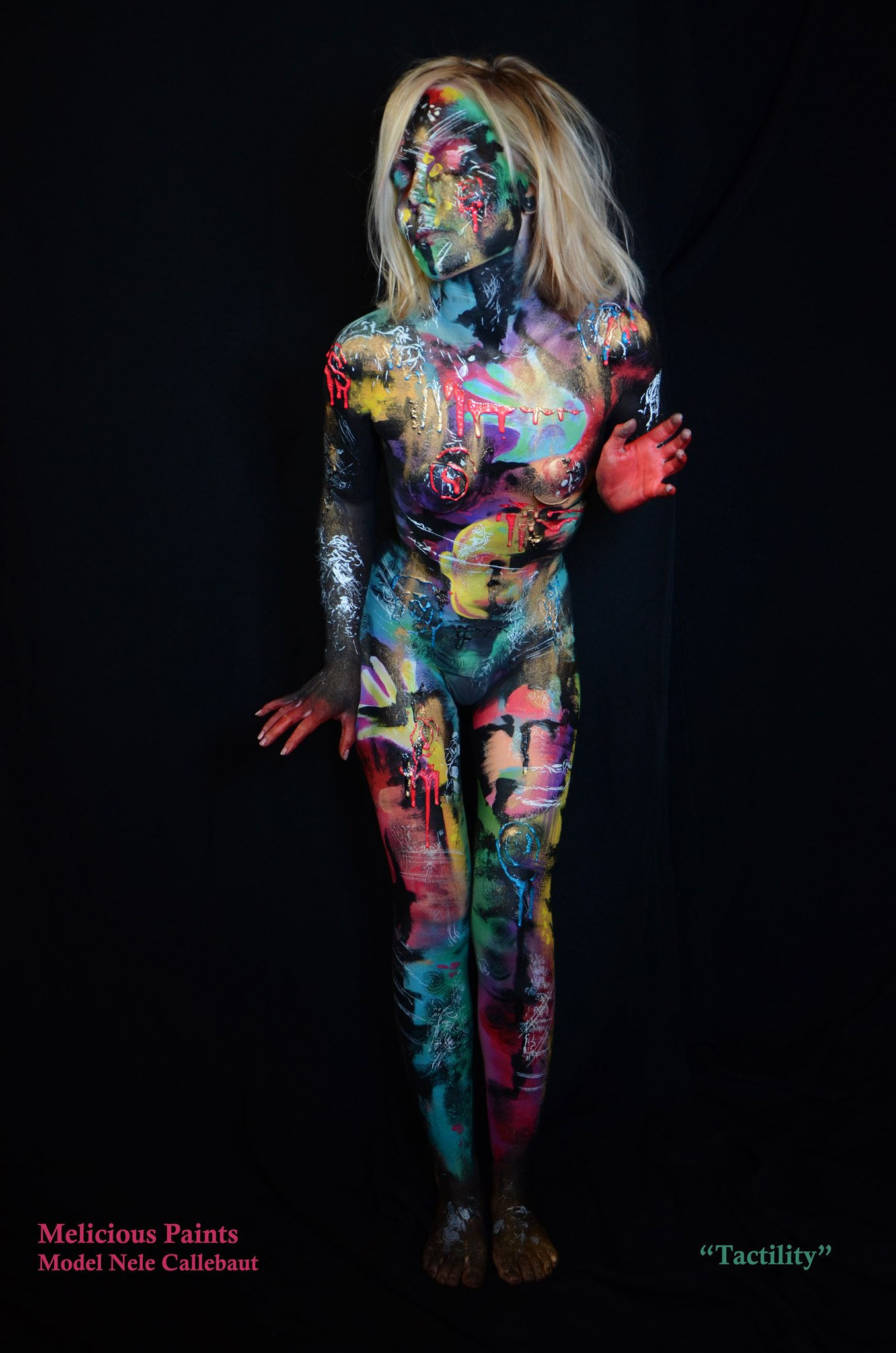 bodypaint abstract