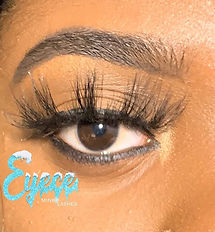 "Eyece Mink Lashes ""Eyece Cream Collectio"