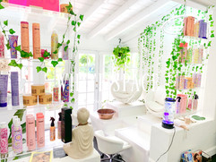 Pedicure Stations & Amika Retail products