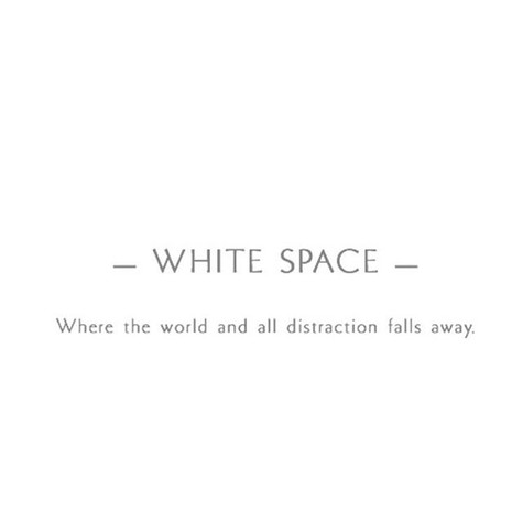 Find your White Space Here🖤🌺 White Spa