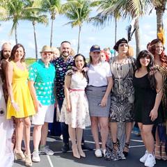 Stylist & Judge of the South Beach Retro Fashion Show