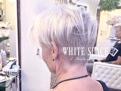Icy white Pixie