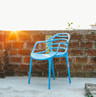The Chair at the Rooftop -  Photography by Jitender Kumar