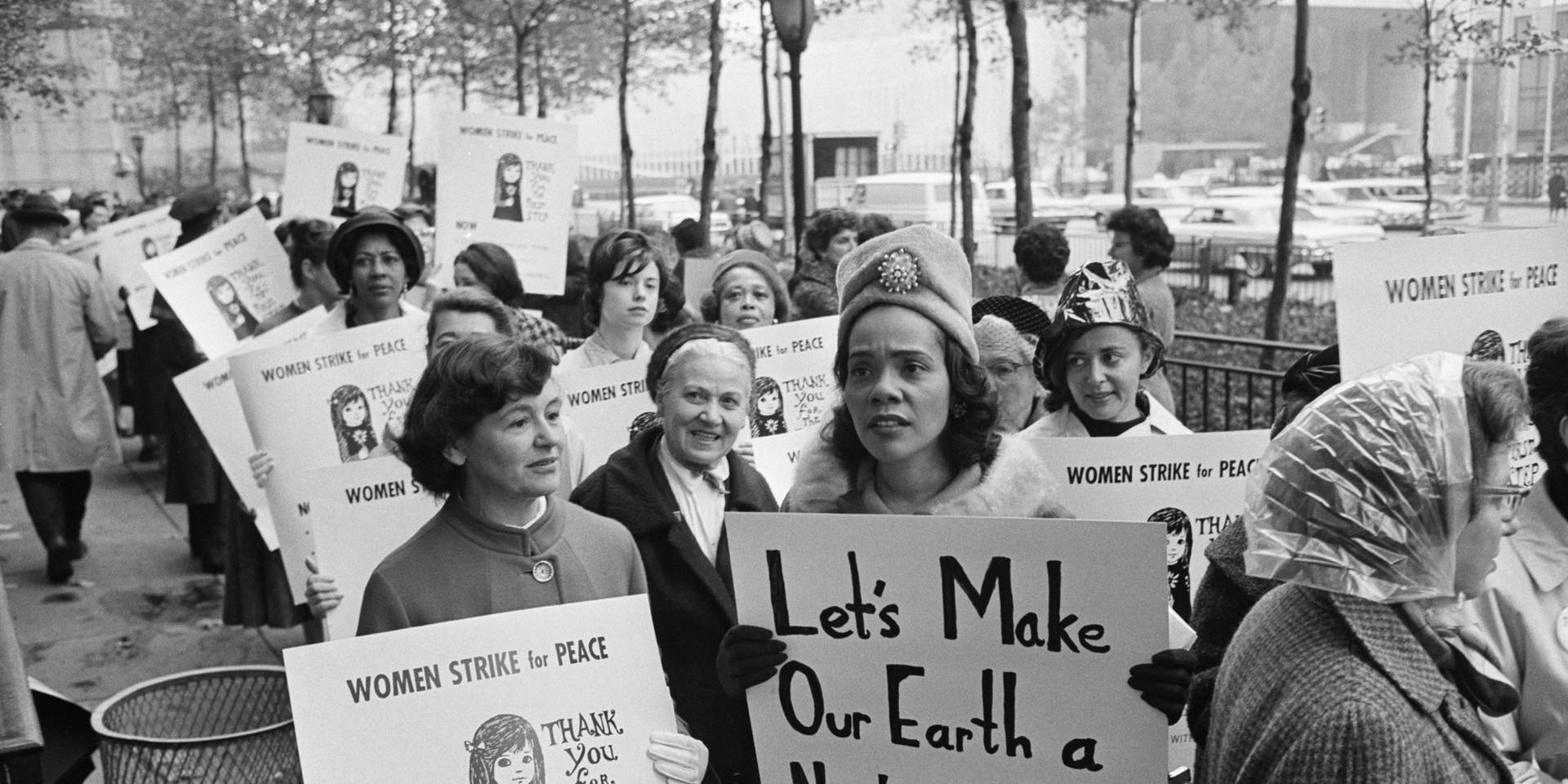 Coretta Scott King 1963 NYC March