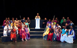 Gospel Cast and Crew