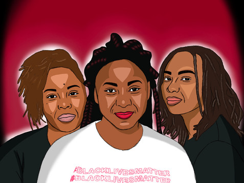 Alicia Garza, Patrice Cullors, Opal Tome: Founders of BLM
