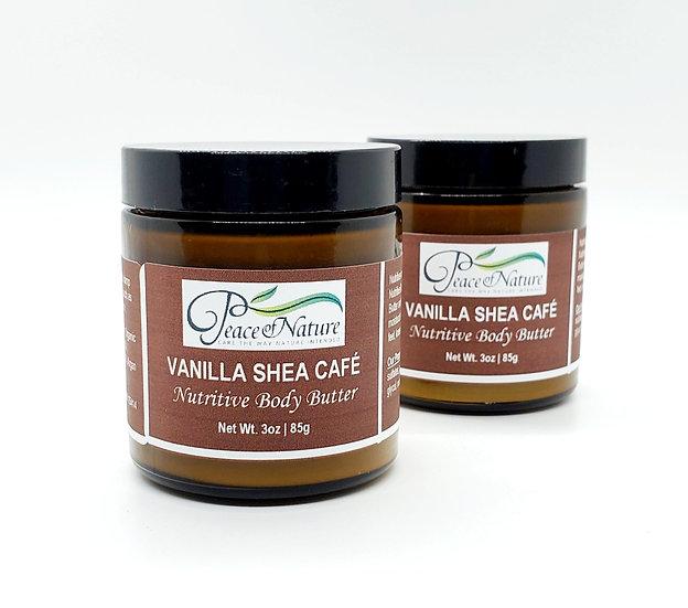 VANILLA SHEA CAFE NUTRITIVE BODY BUTTER