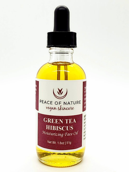 GREEN TEA HIBISCUS MOISTURIZING FACE OIL
