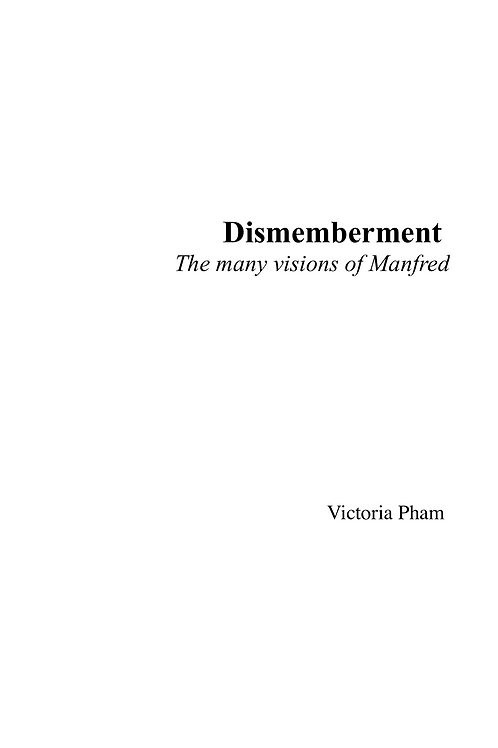 Dismemberment - Full Score (in C)