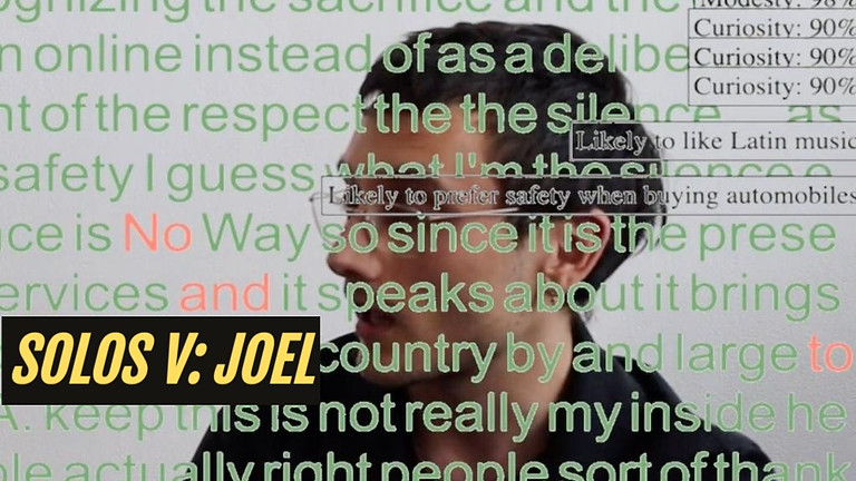 SOLOS V: JOEL