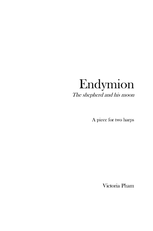 Endymion and Selene: For Harps