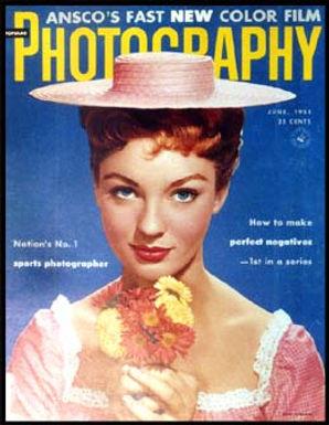 Venita Stevenson June 1955