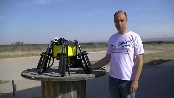 Drone para Fumigar 3-4 hectareas