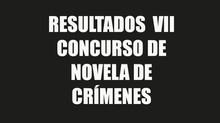 Novela ganadora del VII Concurso de Novela de Crímenes Medellín Negro 2018