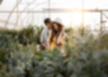 Garden_Engagement_Session_Victoria_BC_Ev