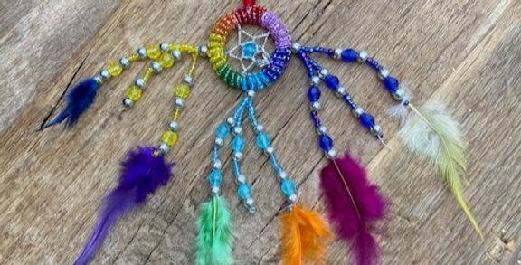 Dromenvanger multicolor klein