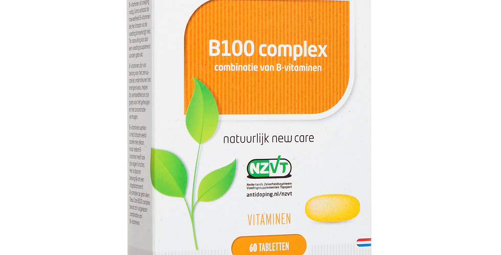 B100 complex 60 tabletten
