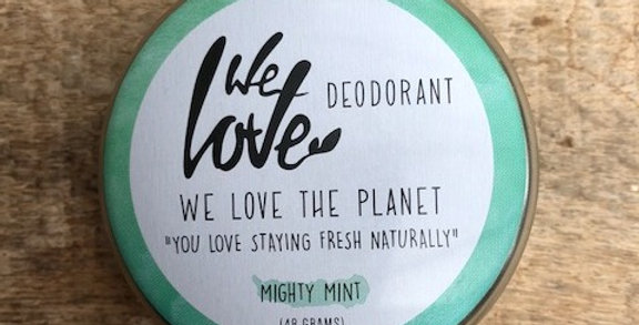 We Love The Planet deo Mighty Mint