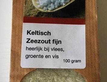 Keltisch zeezout fijn 100 gr