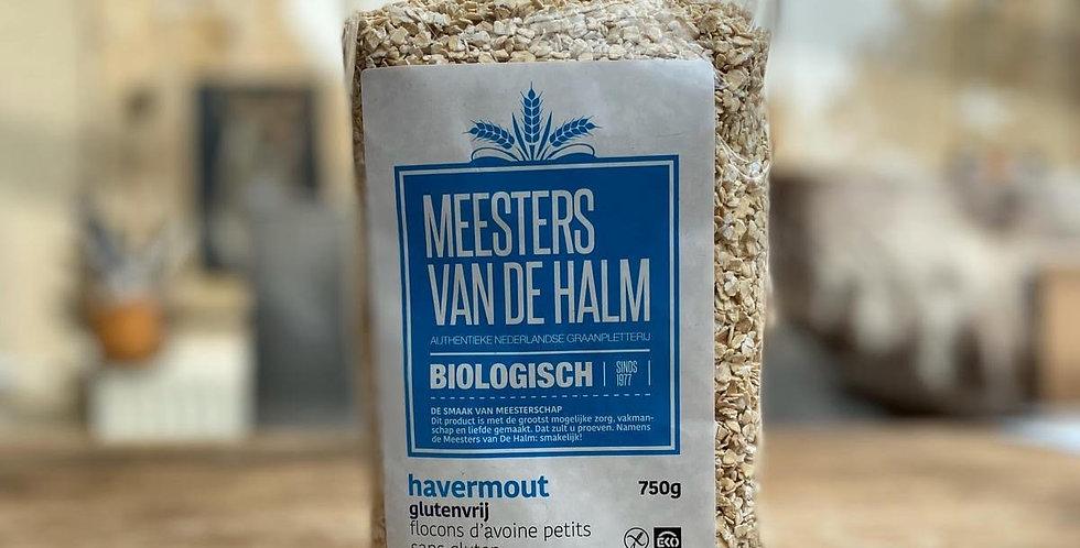Biologische glutenvrije havermout Meesters van de Halm